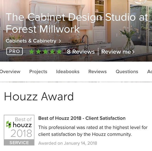 #bestofhouzz2018! Thank you to our wonderful clients and @houzz!