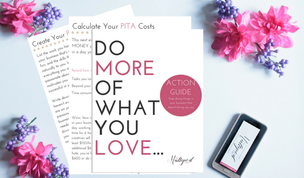 Get Started Today - DISCOVER what you're passionate about in your creative business, do more of that, and delegate the rest. Get my FREE action guide here.
