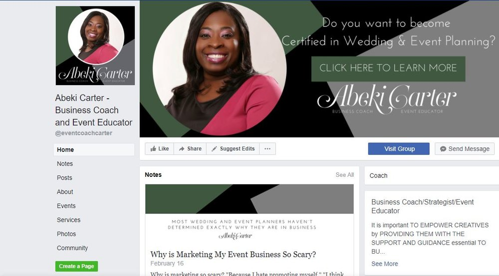 Social Media Management - Facebook Profile Setup