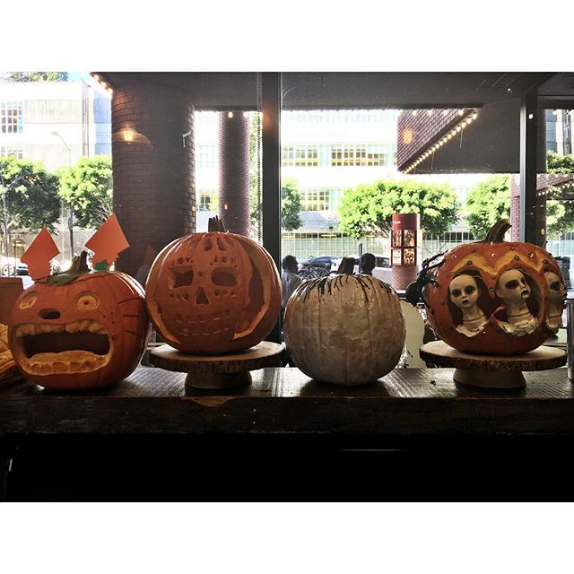 Pumpkins carving competition 🎃🎃🎃🎃🎃🎃