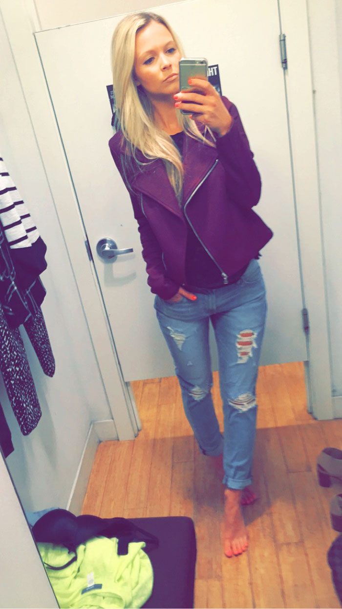 FITTING ROOM FILES. — GILTY as charged. 644362e8e