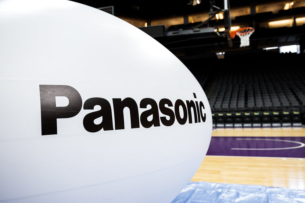 Panasonic BalloonCam at the Sacramento Kings Golden 1 Center photo by Brad Ahlm FairMarketPhoto.com SacramentoSportsPhotography.com SacramentoProductPhotography.com