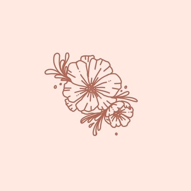 Summery little spot illustration on this cold winter day 🌸