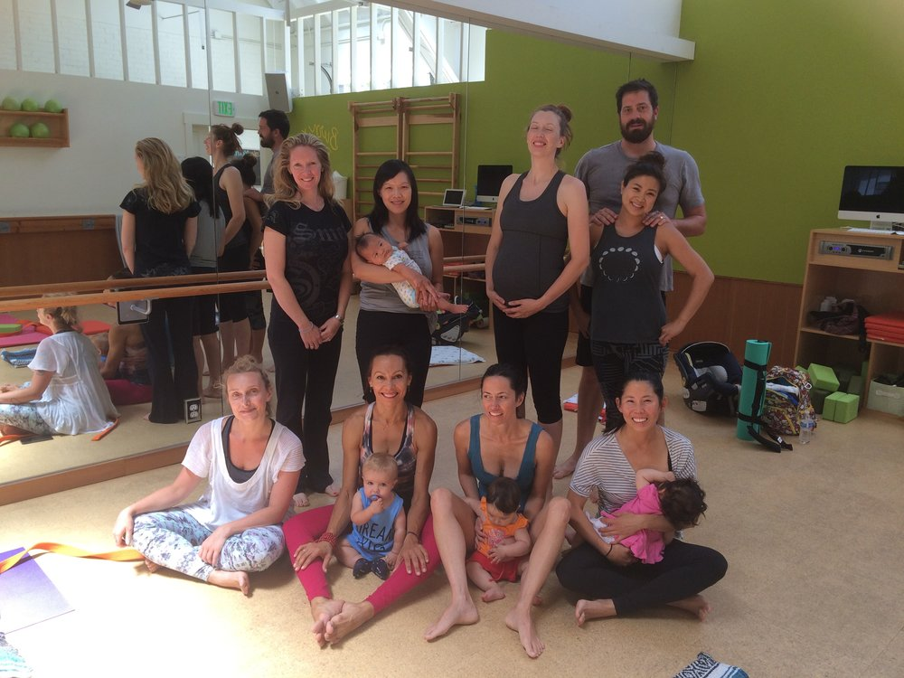 Prenatal/Postnatal/Partner&Me Yoga