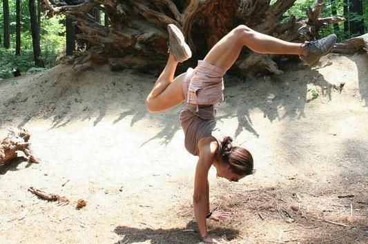Yosemite Handstand