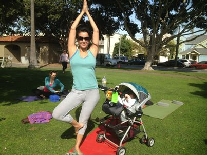 Donation Yoga at the Park