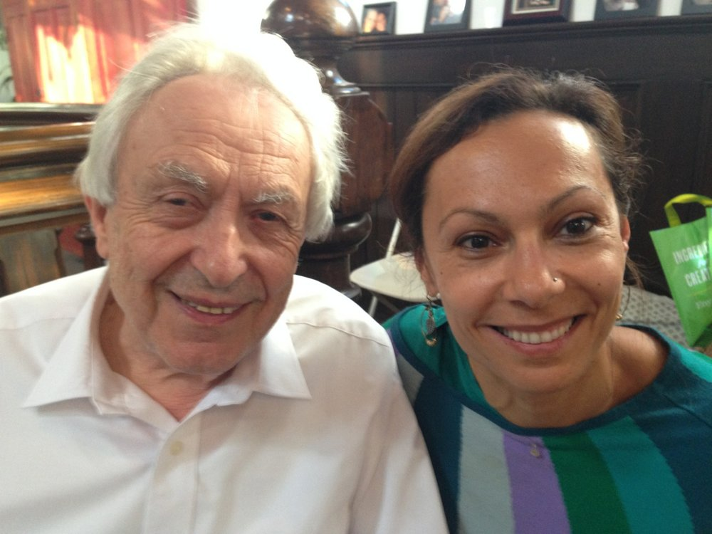 With Michel Odent
