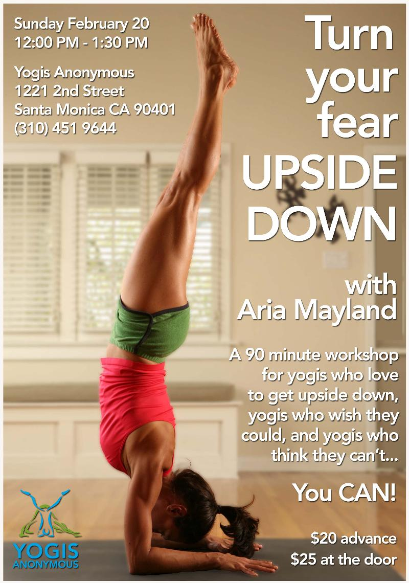 Turn Your Fear Upside Down