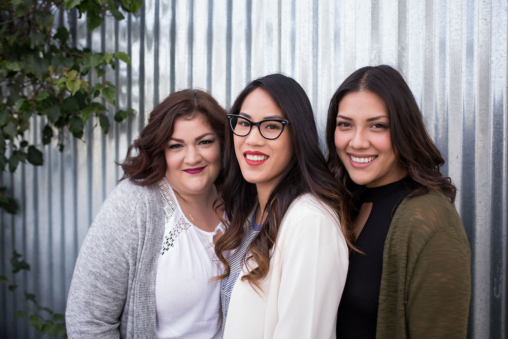 Pictured left to right: Ashlee, Allison & Allie. Photo credit: Mandy Merino Photography