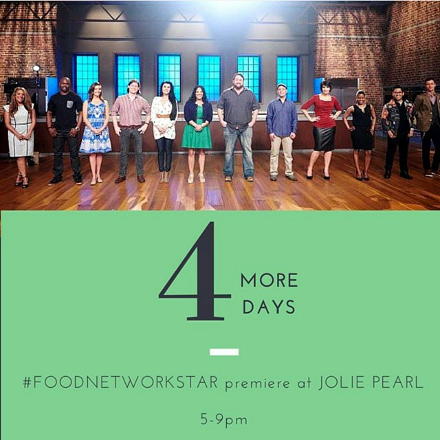 Come help us celebrate with our good buddy @biteandbooze this Sunday for the premiere of #FoodNetworkStar