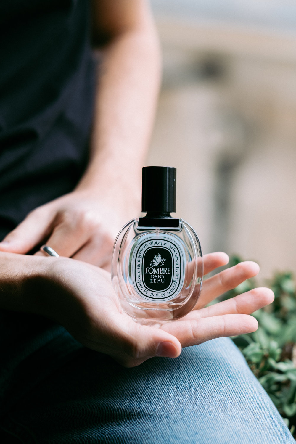 Next scent to introduce is a fragrance for every day by one of my favourite brands  Diptyque . Floral  L'Ombre Dans L'eau  deepens into a sensuous heart of juicy notes of currant and rose.