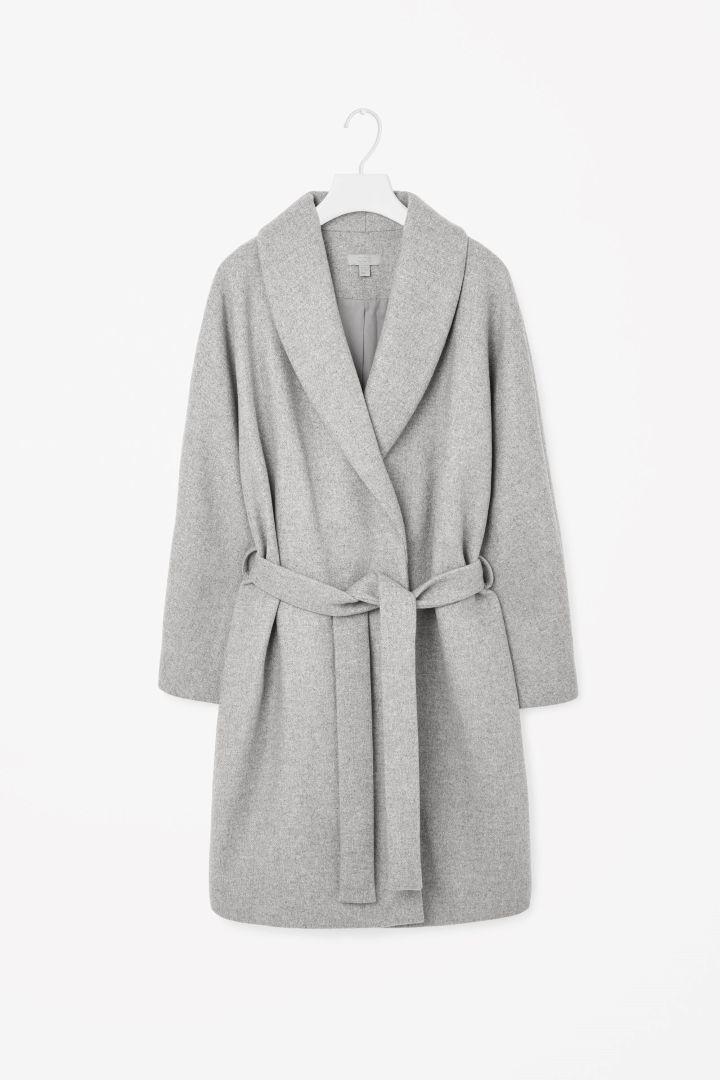 COS Shawl Collared Coat