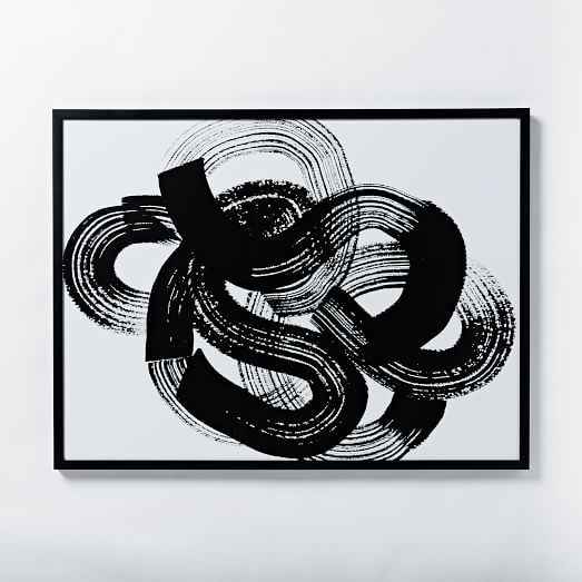 West Elm Julia Kostreva Wall Art - Knot III
