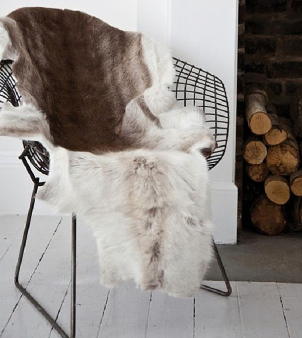 Swedish Reindeer Pelt
