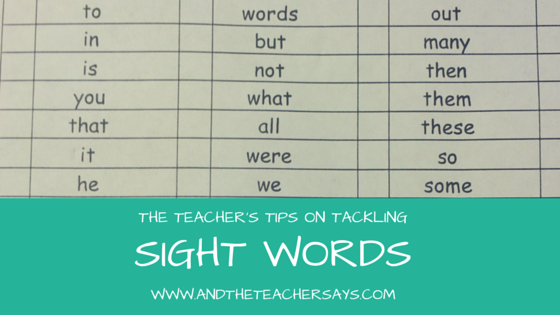 Does your child need to work on sight words or high frequency words? Here is what you need to know from a reading interventionist and Mom