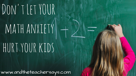 Does your child's math homework make you crazy? Tips to help with math homework, even if you have math anxiety.