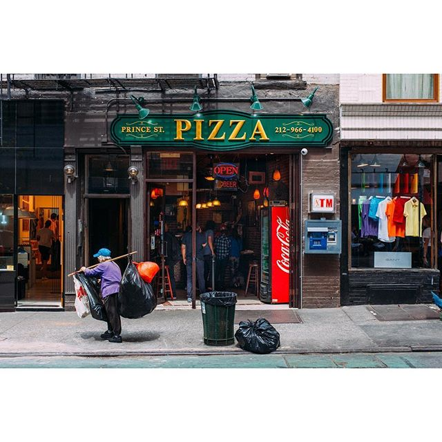 Prince Street Pizza, Nolita 💜