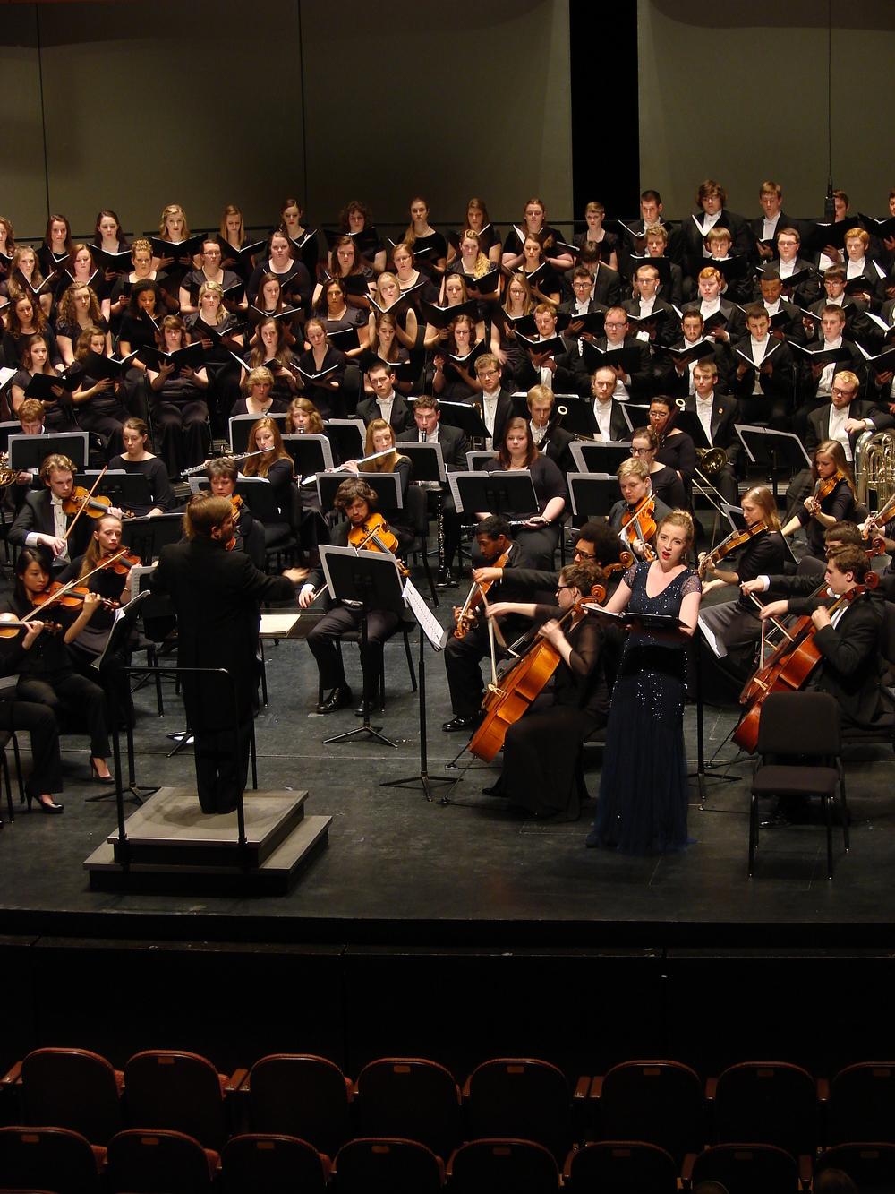 Brahms Requiem, 2014
