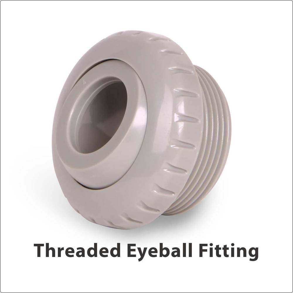 Threaded Eyeball Fitting