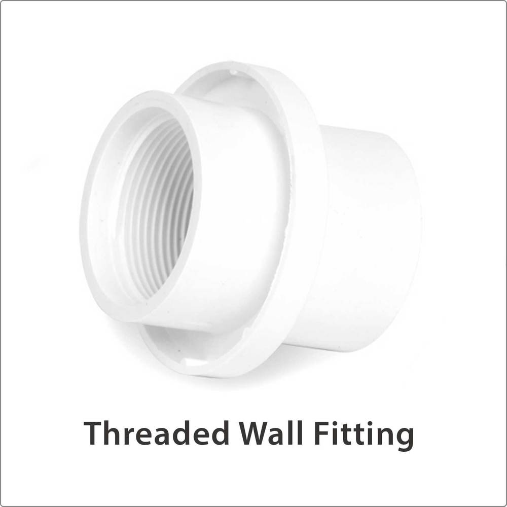 Threaded Wall Fitting