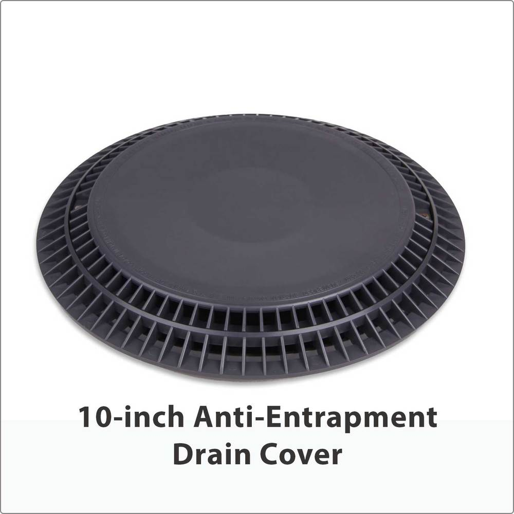 "10"" Anti-Entrapment Drain Cover"