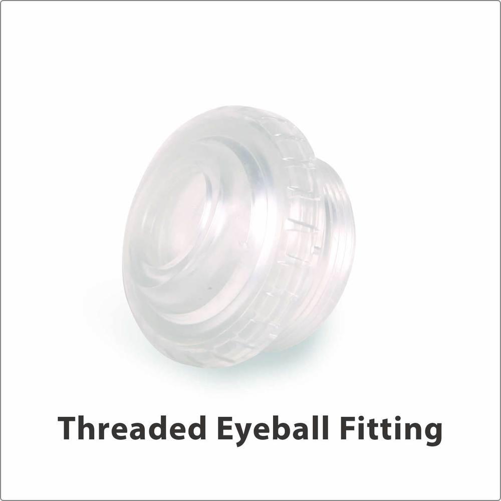 Threaded Eyeball Fitting Clear