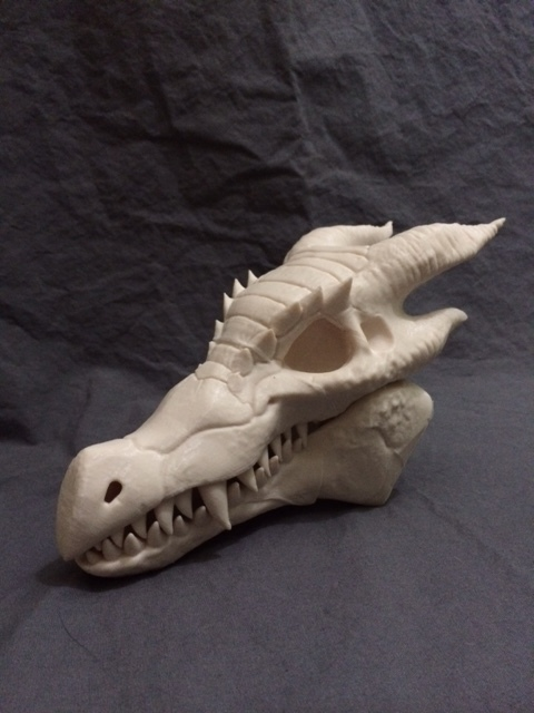 3DKitBash: Dragon Skull