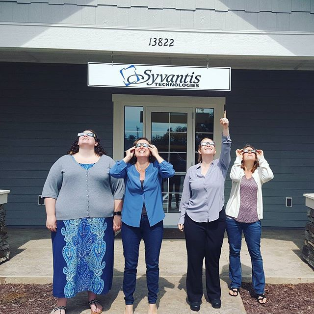 Taking a break to admire the view. #eclipse #eclipse2017