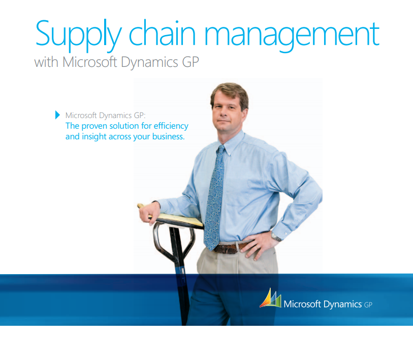 Free Fact Sheet: Supply Chain Management in Dynamics GP