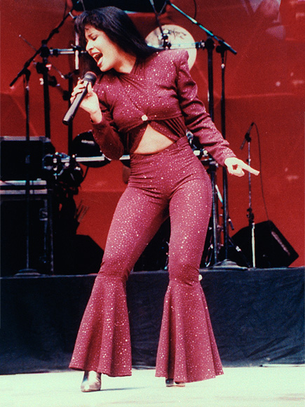 Selena at the Houston Astrodome