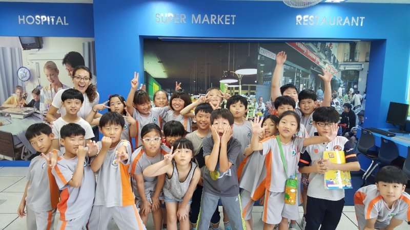 Here I am with my 3rd grader troublemakers or wild monkeys as I like to call them :)