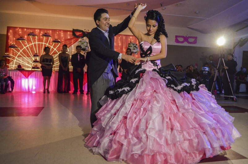 The quinceañera, a Latino rite of passage celebration
