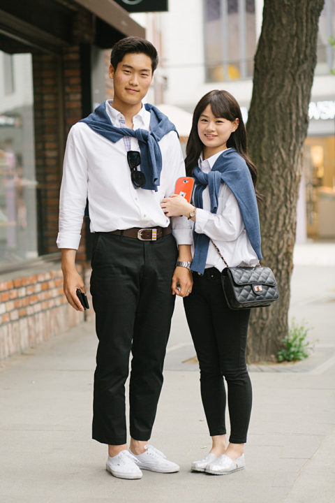 The popular 'couple look'