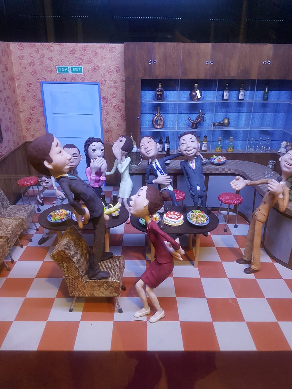 "jeju1 - A diorama called ""eat my banana"".jpg"