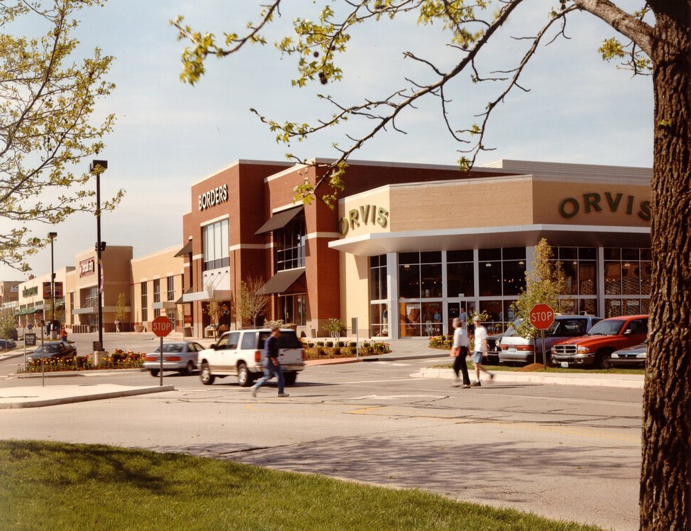 REPOSITION - Brentwood Square Shopping was a struggling community shopping center in suburban St. Louis that was re-positioned as a