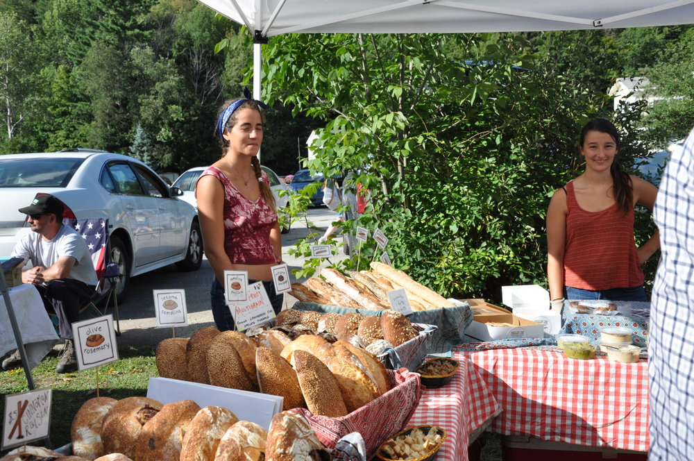 Fresh bread from Earth Sky Time Farm