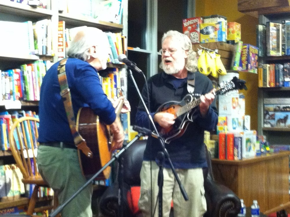 Jake Geppert with Peter Yarrow, 2014