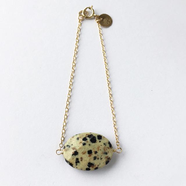Jasper Dalmati0n Bracelet £40.00