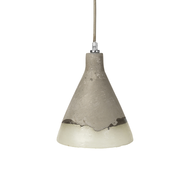 Broste Ceiling lamp, concrete/poly - £66.99