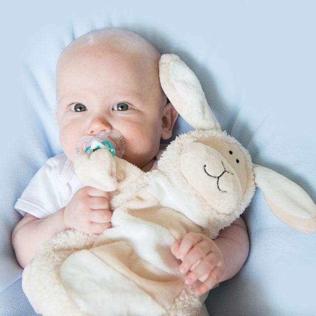 Sleepytot Large Lamb Baby Comforter £14.99