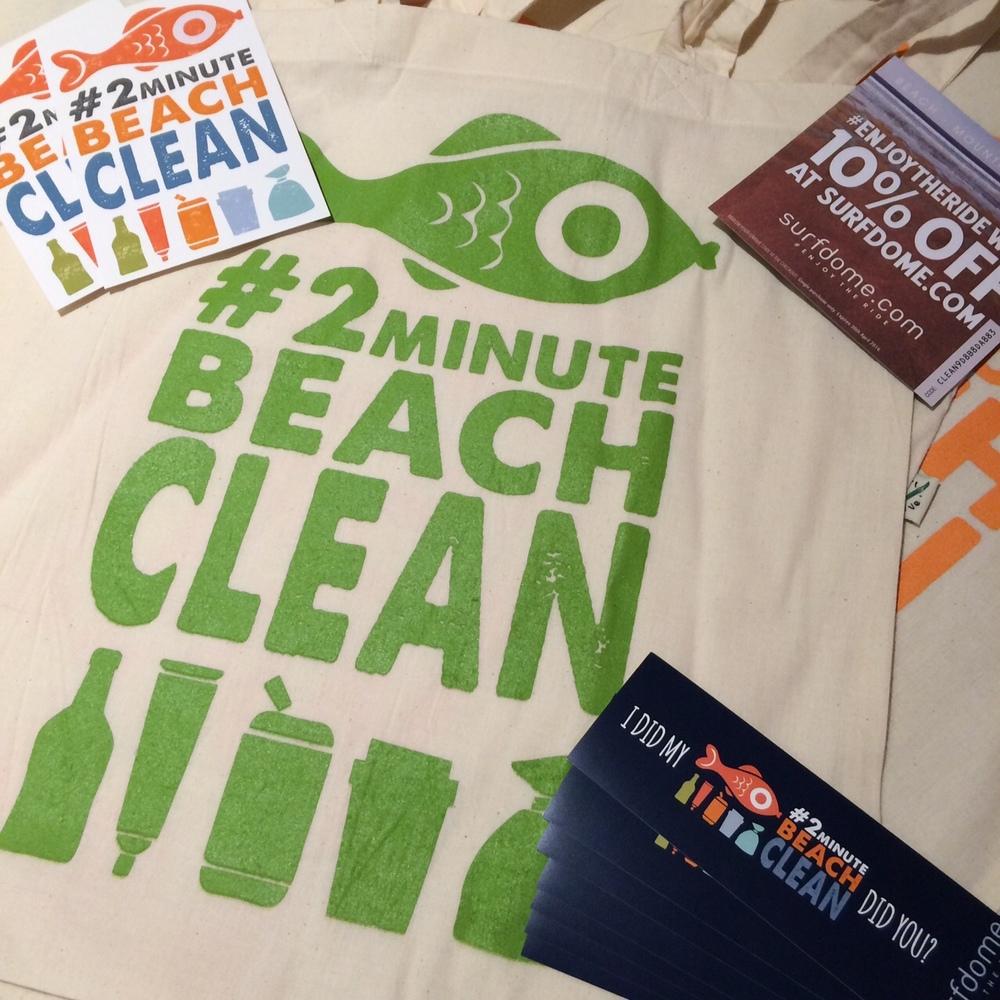 Organic Beach Clean £4.50