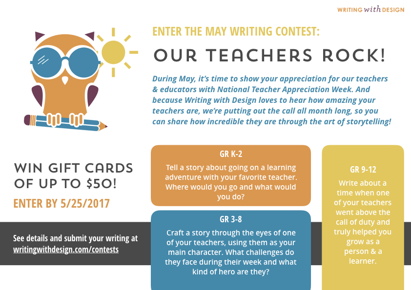 May Writing Contest