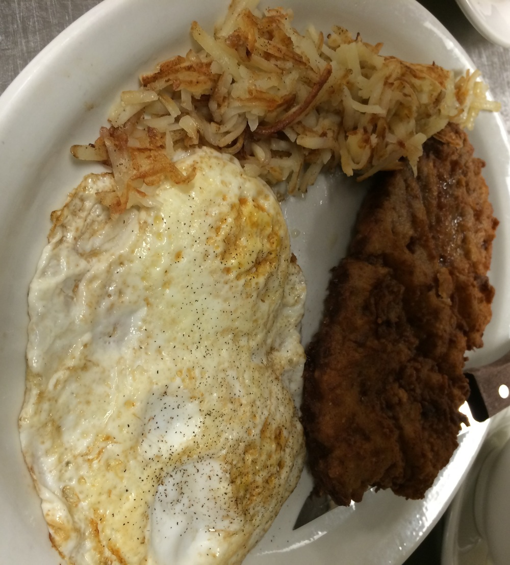 Chicken Fried Steak w/ Fried Egg and Hashbrown