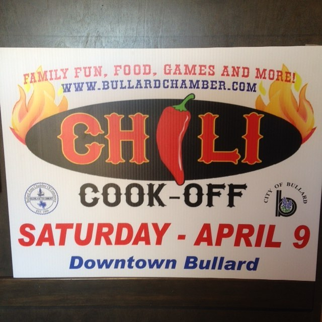 Y'all be sure to come check Bullard's Best Chili Cook-Off!  First place is $500! There will be plenty of food, activities and music to enjoy! Go to www.bigmikesgrillhouse.com for more details! #bullardtx #chilicookoff #bigmikesgrillhouse #familyfun