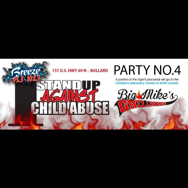 Be sure to come out Thursday, April 28th, for great fun for a great cause! We will have live music by local talent Dustin Becker! Don't miss out on some great fun with great food for a great cause! @livewithcarter @brainsmorningmadhouse #bigmikesgrillhouse #bullardtx #stopchildabuse #standupagainstchildabuse  #thebreezeradio #greattimeforagreatcause