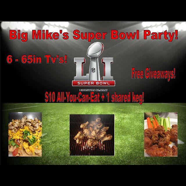 Super Bowl at Big Mike's