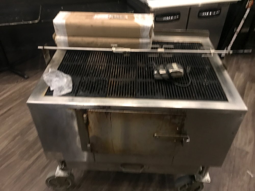 Aztec Wood Grill (Gas Starter Option & Rotisserie) 48""