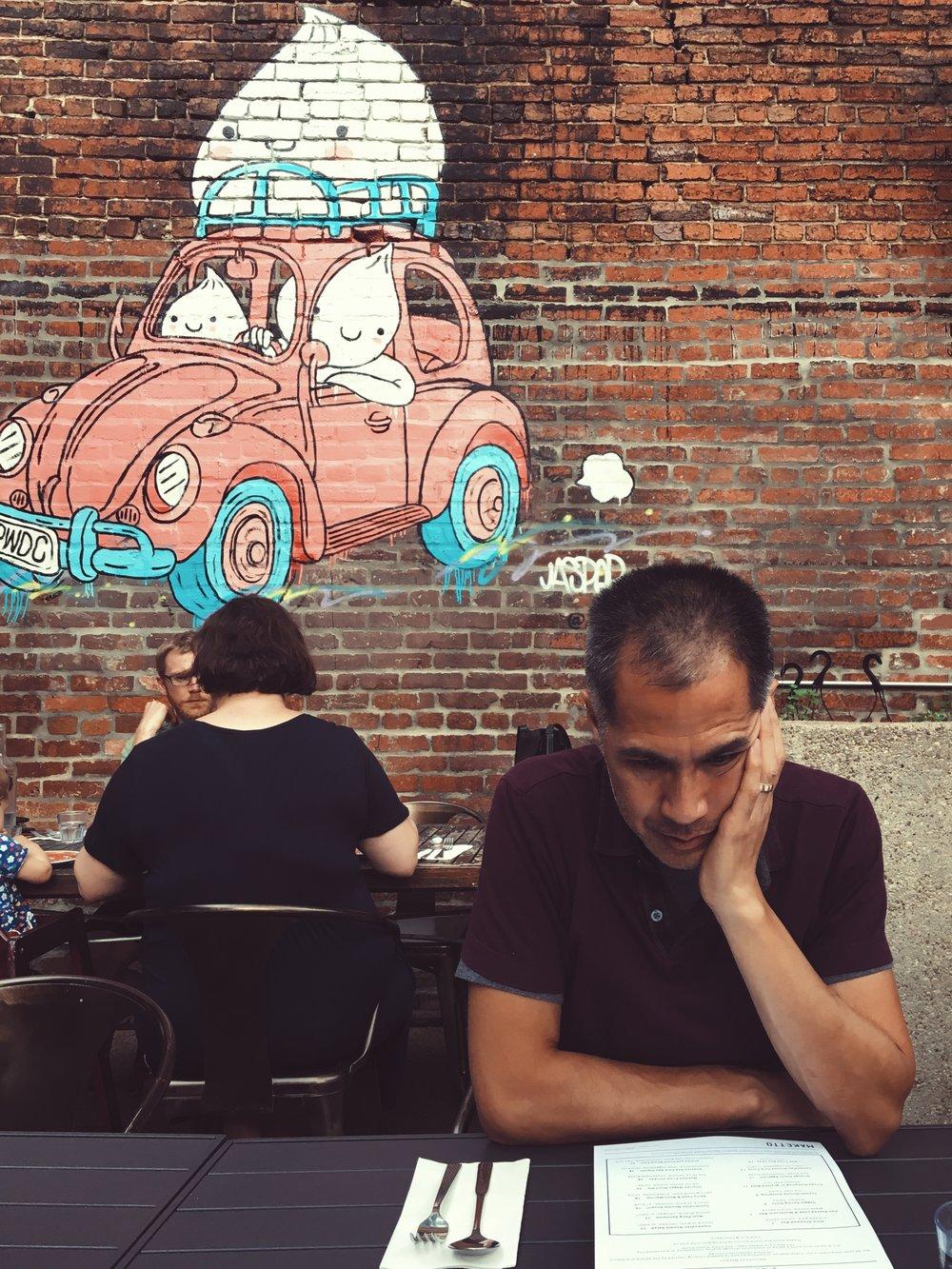 Dumpling mural