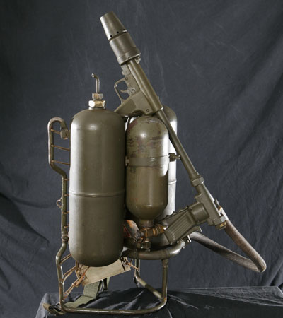 The M2-2 flamethrower