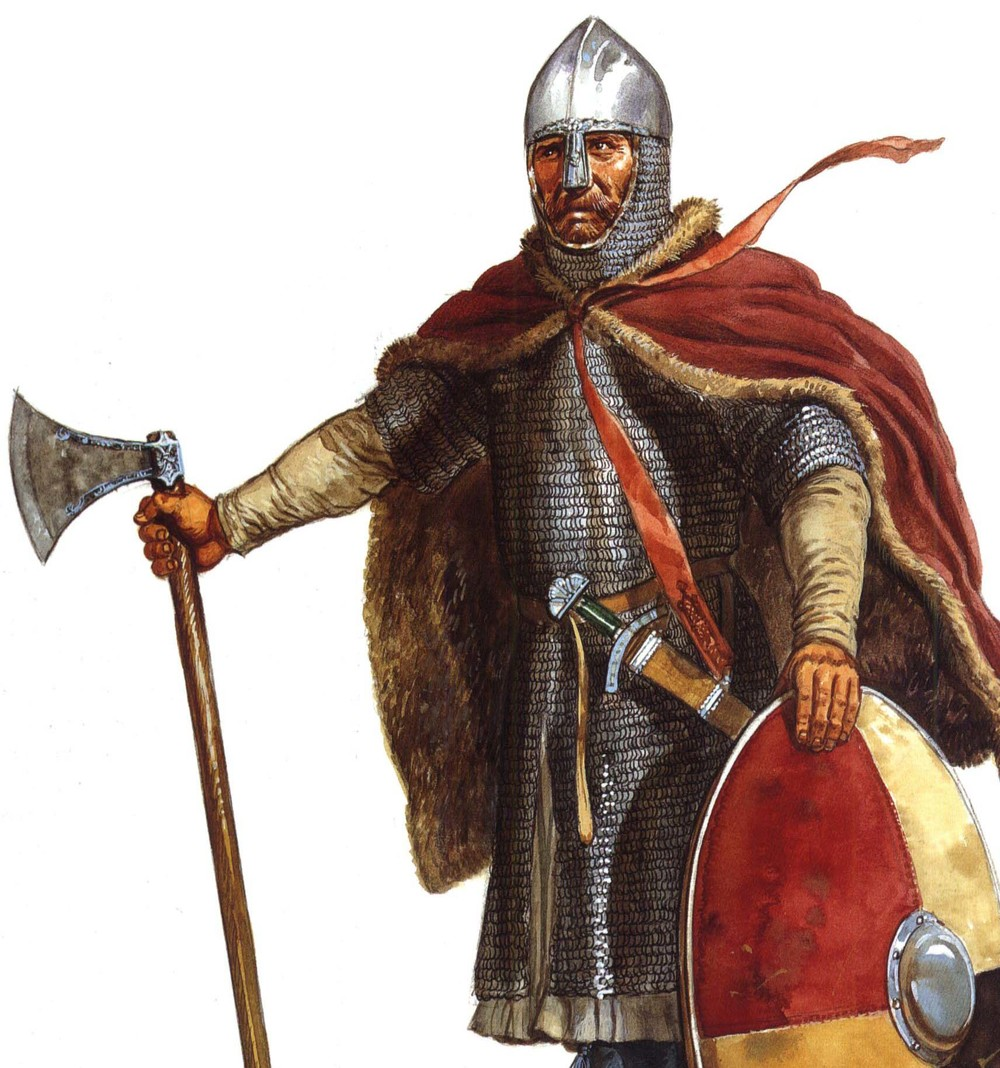 A Viking warrior typical of the time